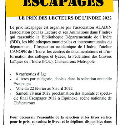 Escapages Adulte