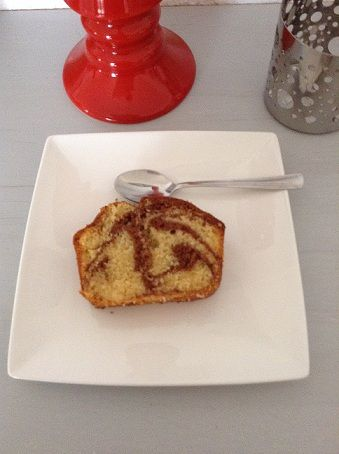 cake marbré de Christophe Felder