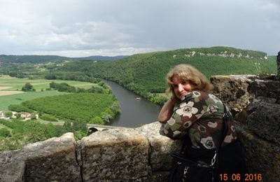 Notre voyage en Dordogne ,suite....Le chateau de Castelnaud