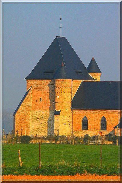 Diaporama église fortifiée de Beaurain - Flavigny le Grand