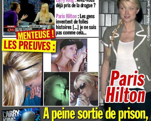 Paris Hilton : a peine sortie de prison, un nouveau mensonge !