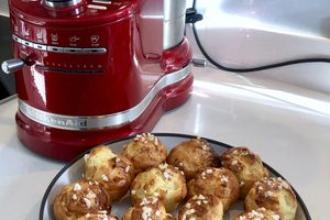Chouquettes au cook processor Kitchenaid