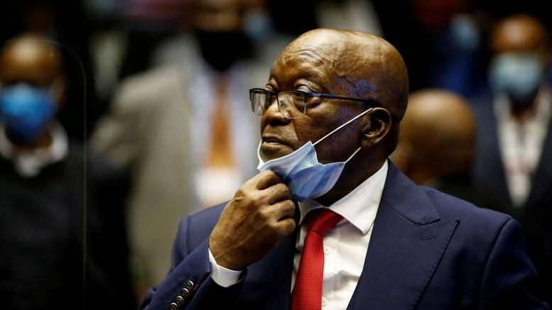 South African court orders ex-President Jacob Zuma to jail for contempt