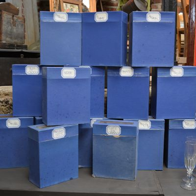 Boites cartonnèes