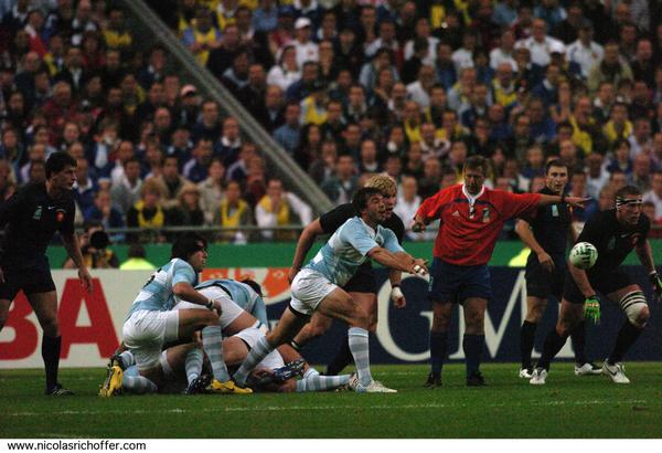 Quarante images pour revoir sous un nouvel angle la défaite du XV de France lors du match d'ouverture de la Coupe du monde
