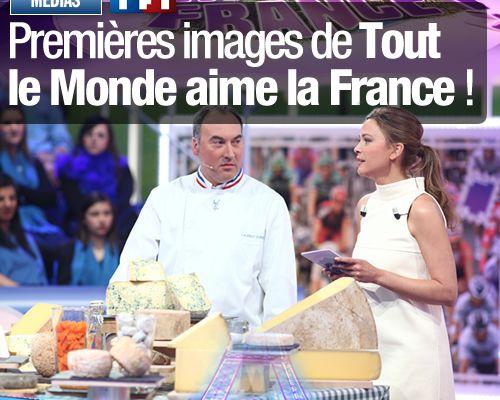 Premières images de Tout le Monde aime la France !