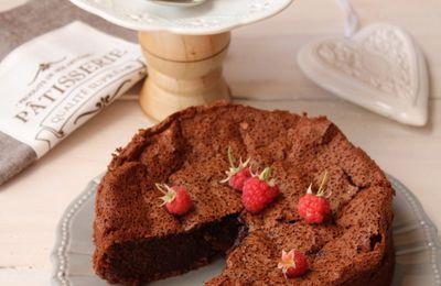 Gâteau au Chocolat et aux Pois Chiches (sans Gluten)