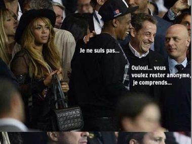 Ha ha, dit Doc Gynéco en voyant Sarko (feat. Beyoncé, Beckham et Jay Z) + Autopsie & Tout saigne (#MinistèreAmer)
