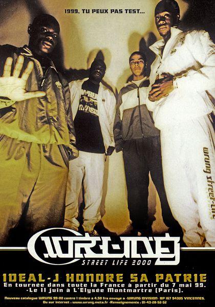 Ideal J (Kery James, Teddy Corona, Jessy Money, Selim du 94, Dj Mehdi, Rocco) - Wrung - le rap c'était mieux avant
