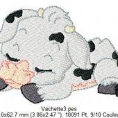 Petite vache dort - Le blog de Turquoise210