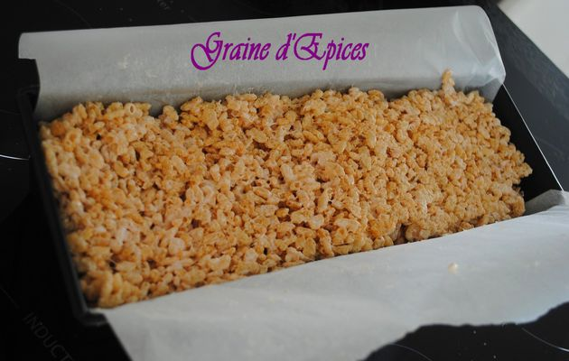 Cake design : RKT (Rice Krispies treats)
