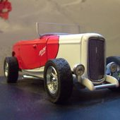 FORD 1932 HOT ROD NOSTALGIC DRY LAKE RACER 1/43 EAGLES RACE - car-collector.net