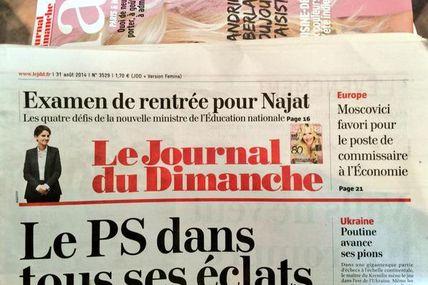 #PremierGaou / Le JDD prend la ministre Vallaud-Belkacem pour une comique à prénom seulement