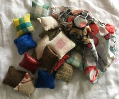 "objets textiles ""Montessori"""