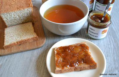 Confiture de potimarron, abricots secs et agrumes de Viviane