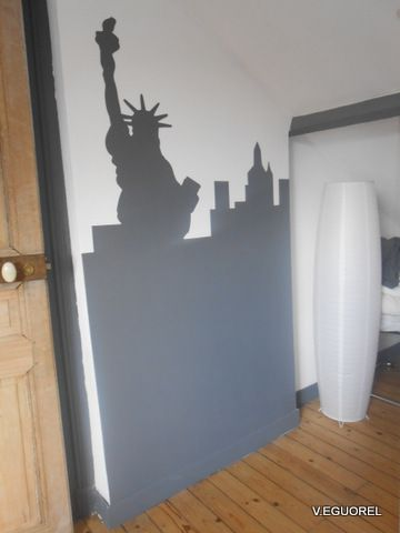 Album - relooking-chambre-theme-New-York