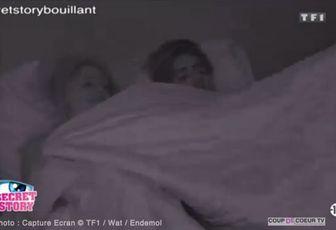 Secret Story : Premiers rapprochement entre Sara et Stéfan en pleine nuit (vidéo)