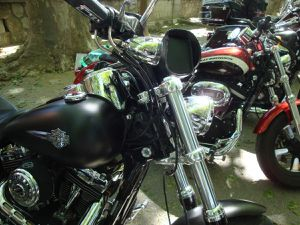 Aimargues et Les Saintes-Maries de la Mer en Harley Davidson