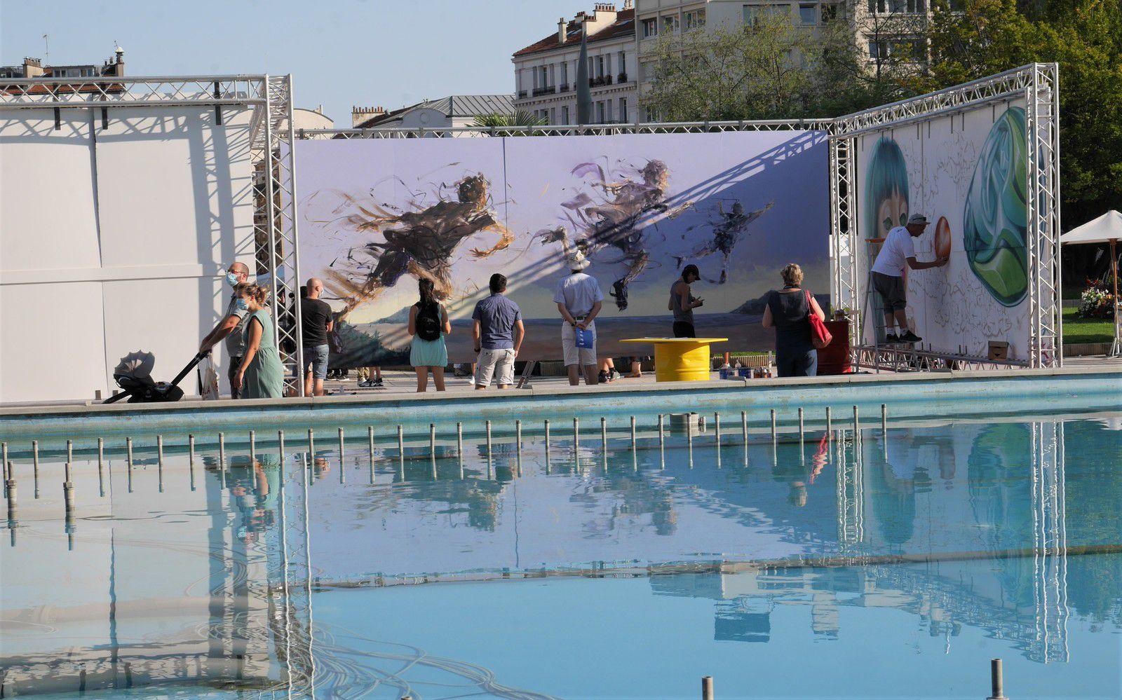 Graffic art festival à Puteaux