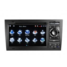 cheap hd tv | Low cost Piennoer Original Fit (2002-2008) Audi A4 6-8 Inch Touchscreen Double-DIN Car DVD Player  &  In Dash Navigation System,Navigator,Built-In Bluetooth,Radio with RDS,Analog TV, AUX & USB, iPhone/iPod Controls,steering wheel control, rear view camera input