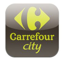Carrefour City teste son appli City Walk à Saint Lazarre.