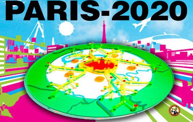 Paris 2020 des départements en moins : 92+93+94=75