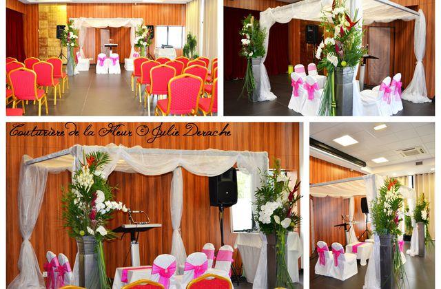 Mariage Juif à l'Hôtel Palladia | Fleuriste Mariage Toulouse