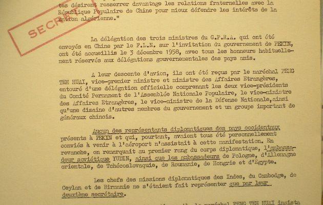 L'aide communiste à la rébellion algérienne 10/25