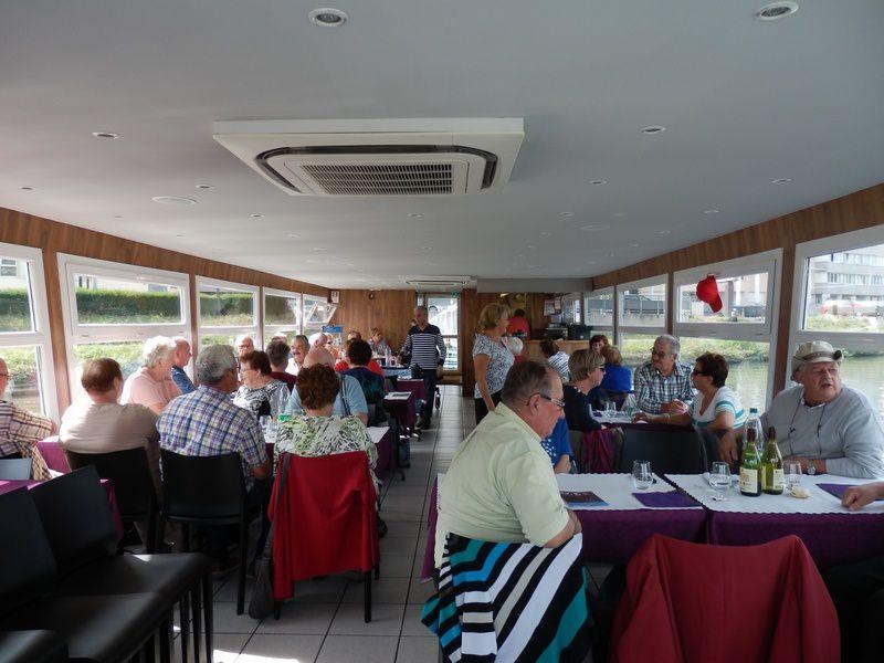 à Nancy à bord de La Bergamote - Déjeuner-croisière , hyper sympa!