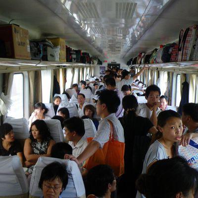 De Pékin à Tianjin en train