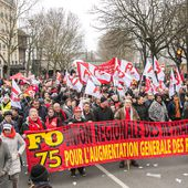 Manifestations du 22 mars 2018 à Paris