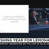 "Lemonade on LinkedIn: ""Throwback to one of the more flattering moments of 2018 when State Farm ® mocked #AI and #bots in a (*cringe*) ad... and Lemonade decided to promote the ad! Full interview w/Lemonade CEO and cofounder Daniel Schreiber: https://lnkd.in/dxzbst7 #GoLemonade #InsuranceWillNeverBeTheSame"""