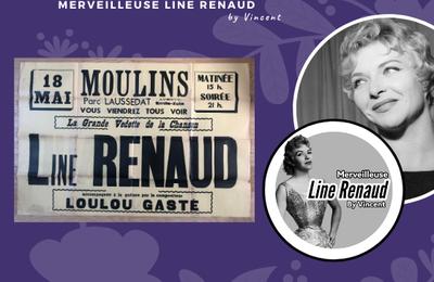 AFFICHE: Line Renaud à Moulin 18 mai
