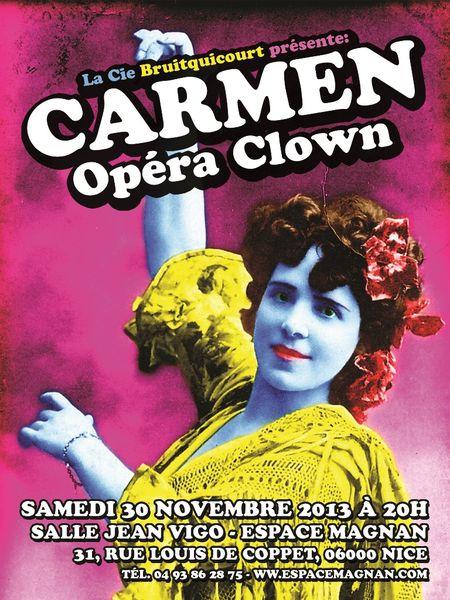 Carmen Opéra Clown à l'Espace Magnan