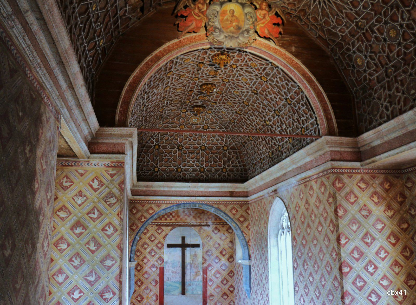 La chapelle du Palais National de Sintra (Portugal)