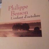 L'enfant d'octobre de Philippe Besson - unefrancaisedanslalune
