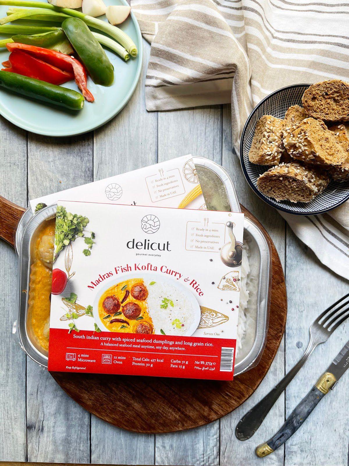 Delicut (poisson surgelé) I Design : Pink Cheese Designs, Inde (mars 2021)