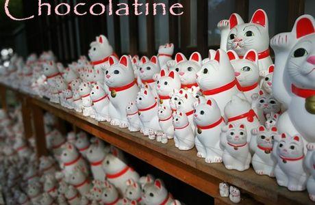 La p'tite Chocolatine est partie au pays du soleil levant...