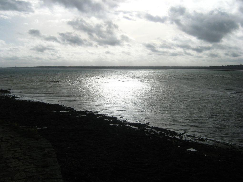 Le tour de la presqu'île de la Hougue