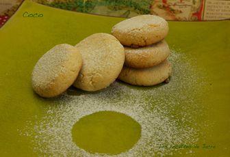 gâteaux à la farine de coco