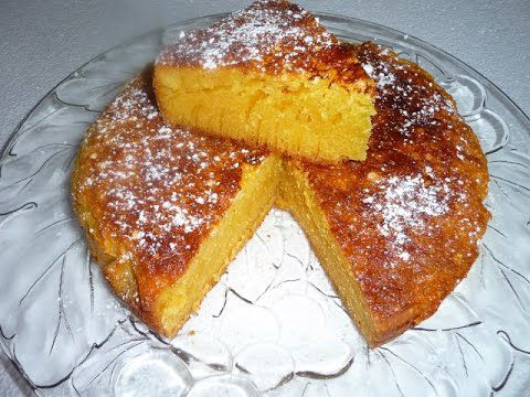 Très simple à réaliser : le gâteau tunisien à l'orange !