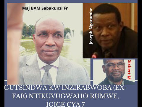 Inzirabwoba cyangwa Ingabo za Jenerali Habyalimana zagombaga gutsindwa, byali byanditse mu nyenyeli!