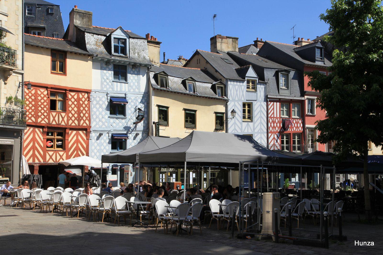 Rennes, place Rallier du Baty