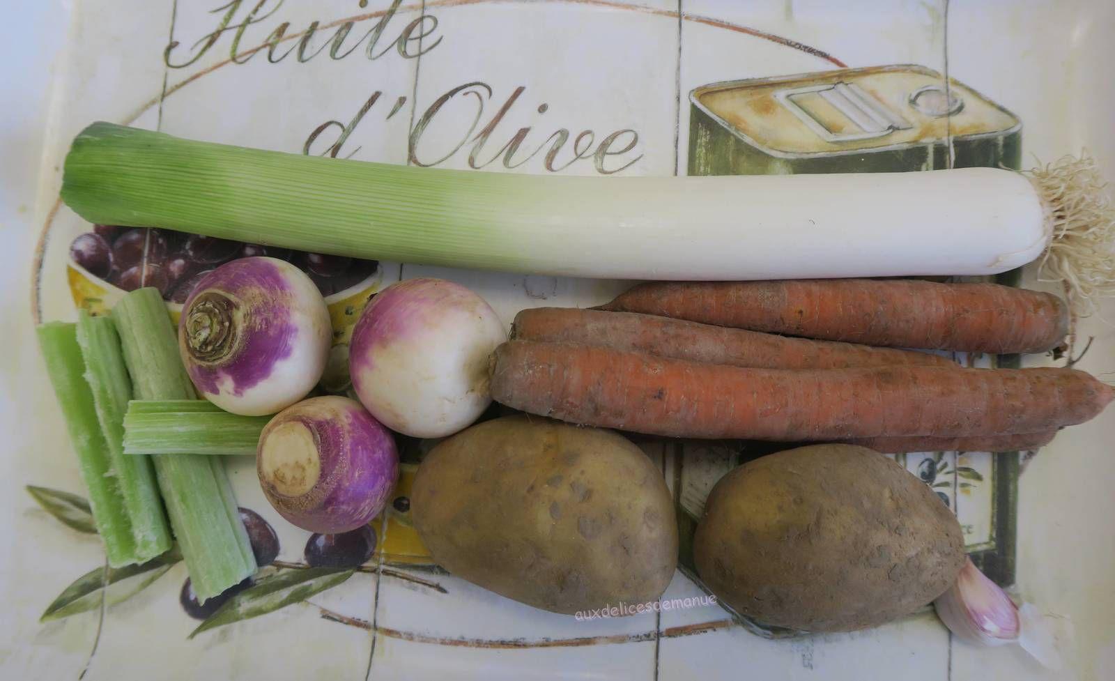 Velouté de légumes de la maman de Christelle, avec M. Cuisine ou pas