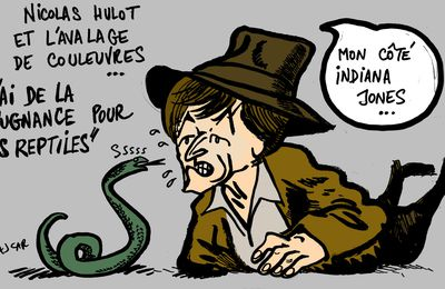 Nicolas Hulot protège les couleuvres