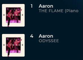 Les singles du duo AaRON te sont proposés en MP3