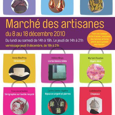 Affiche marché des artisanes
