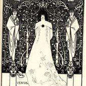 Aubrey Beardsley - Vénus - LANKAART