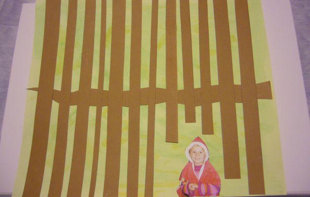 Activité autour du livre le petit chaperon rouge des Editions Seuil Jeunesse