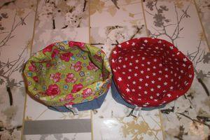 boite de rangement en tissu et décorative